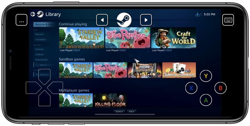 steam2 - Steam Link je od teraz dostupný na App Store