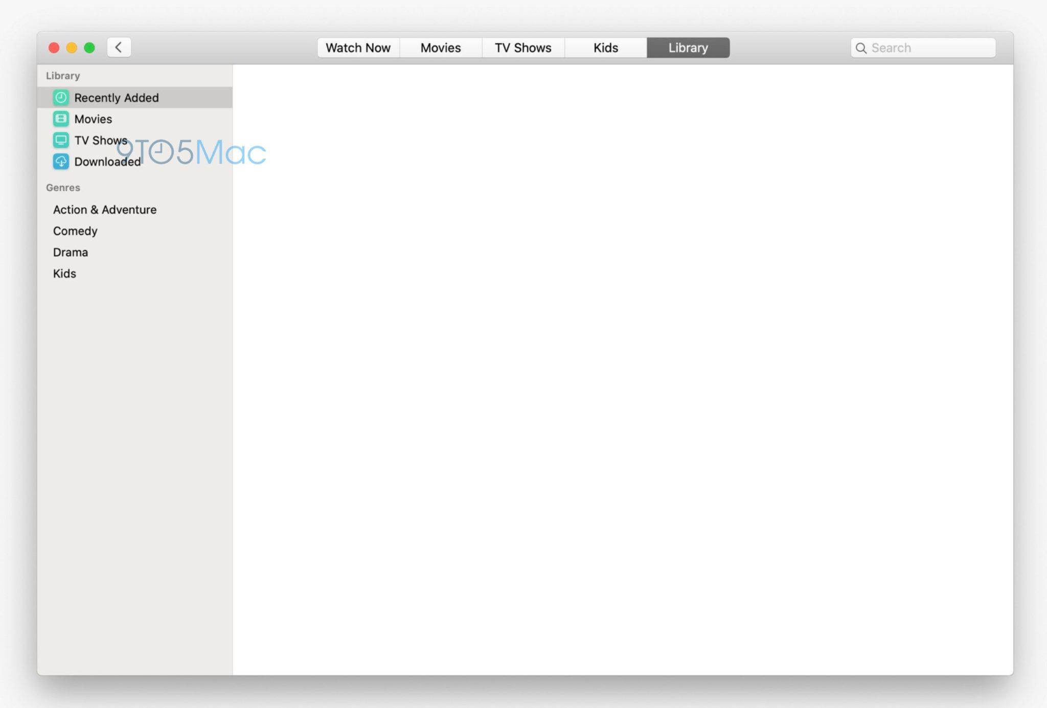 tv app macos 10.15 - Takto budú vyzerať nové hudobné a TV aplikácie v macOS 10.15
