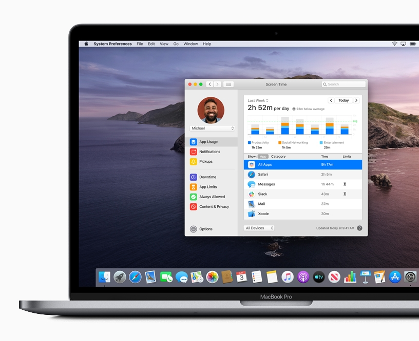 Apple previews macOS Catalina Screen Time screen 06032019 big.jpg.large  - Apple predstavil macOS Catalina