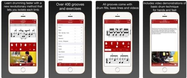 Drum School 600x250 - Zlacnené aplikácie pre iPhone/iPad a Mac #22 týždeň