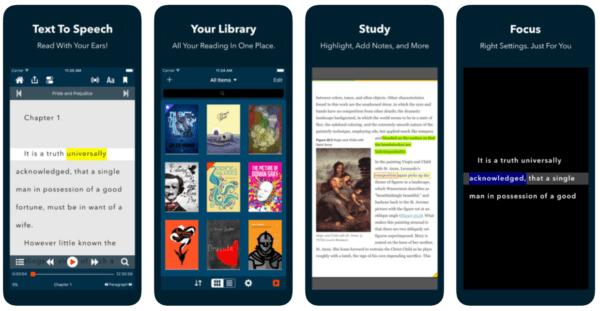 Voice Dream Reader 600x311 - Zlacnené aplikácie pre iPhone/iPad a Mac #26 týždeň