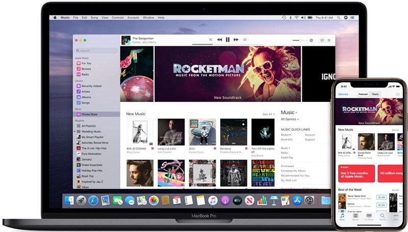applemusicpurchases 800x456 - Apple priblížil zmeny v iTunes s príchodom macOS Catalina