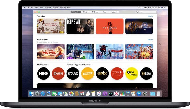 appletvappmac 800x461 - Apple priblížil zmeny v iTunes s príchodom macOS Catalina