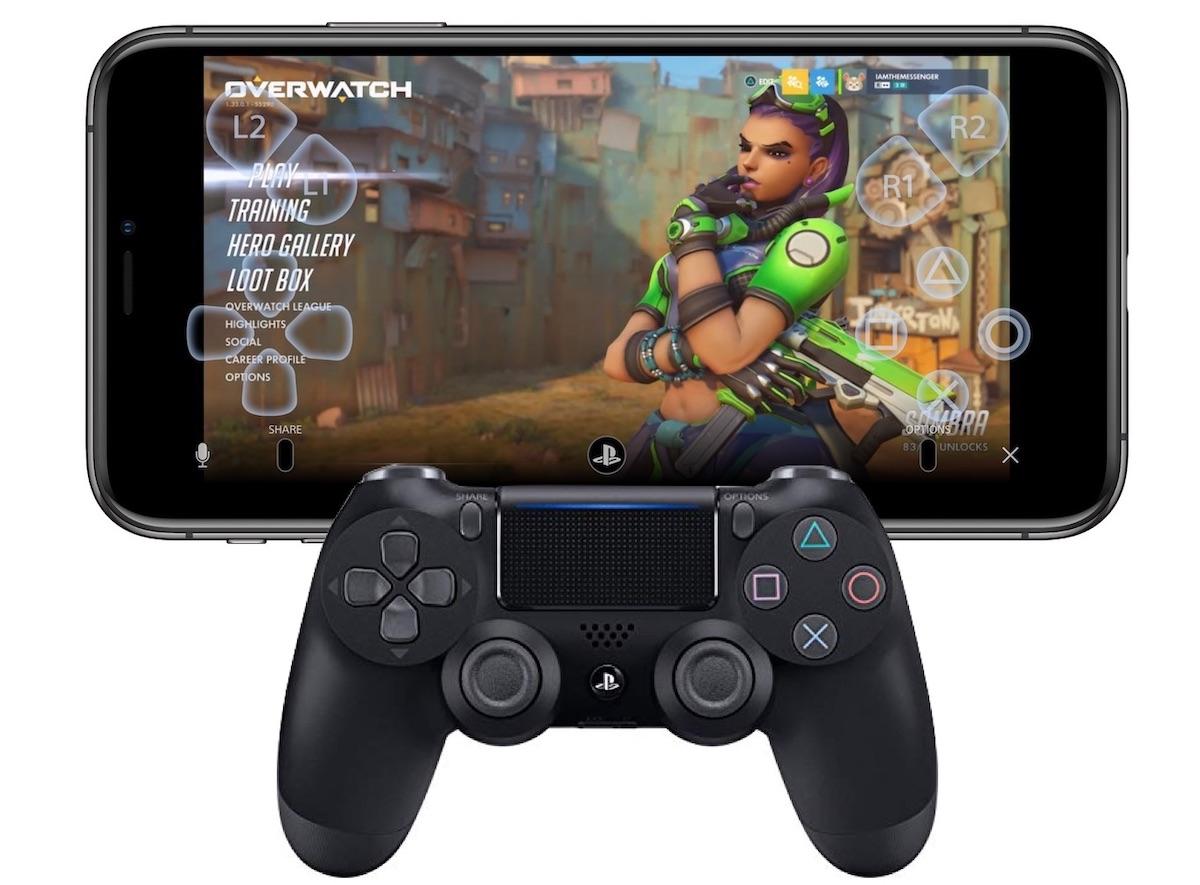 iOS 13 ps4 dualshock - iOS 13 premení iPhone na mobilný PlayStation 4 ovládač vďaka DualShock 4 podpore a Remote Play aplikácií