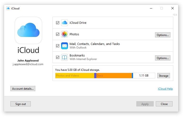 icloudwindows2 - Apple vydal nový iCloud pre Windows