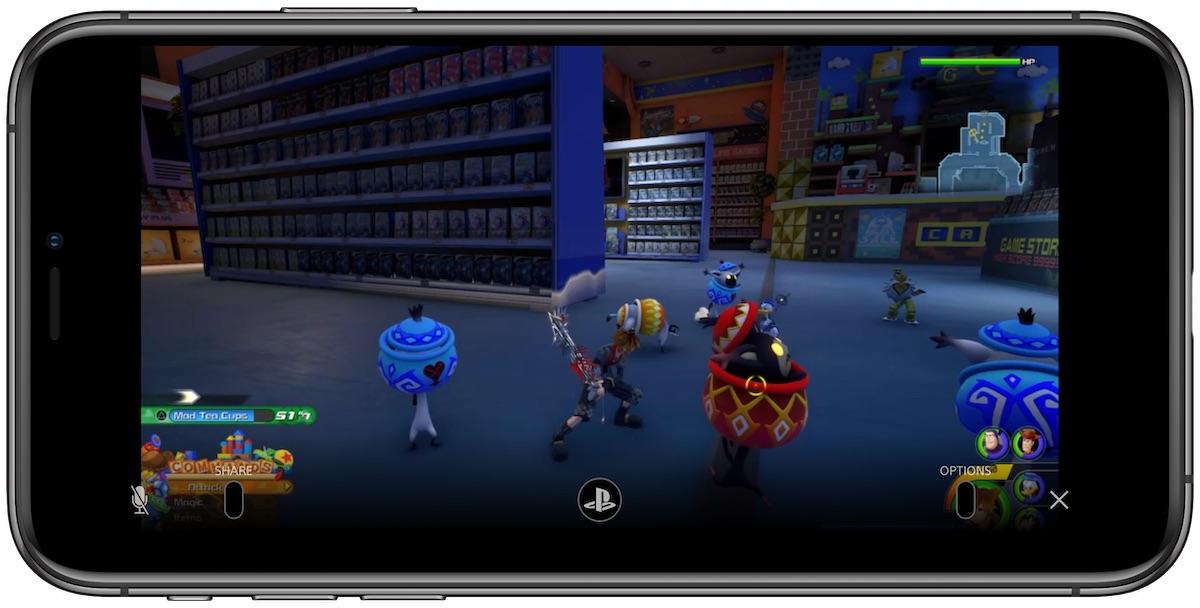 remote play KH3 - iOS 13 premení iPhone na mobilný PlayStation 4 ovládač vďaka DualShock 4 podpore a Remote Play aplikácií