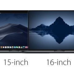 """16inchrmbpcomparison 240x240 - DigiTimes tvrdí, že nový 16"""" MacBook Pro bude disponovať """"ultra tenkým rámikom"""" a predstaví sa nám v septembri"""