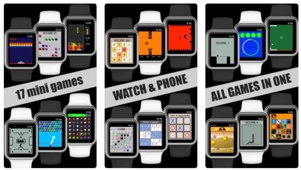 17 Mini Games For Watch Phone 600x339 - Zlacnené aplikácie pre iPhone/iPad a Mac #28 týždeň