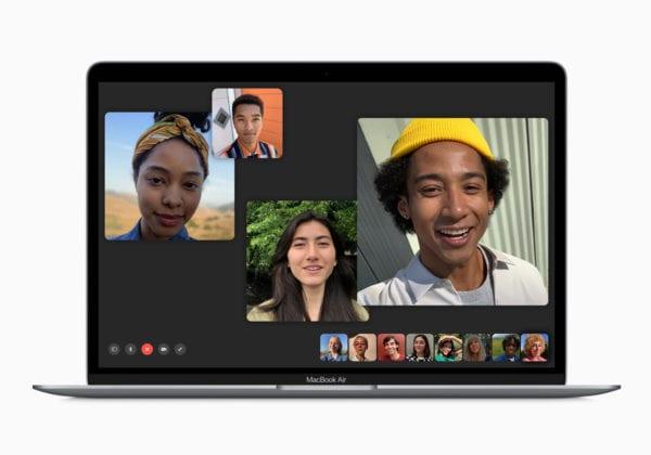 Apple macbook air and macbook pro update facetime screen 070919 600x420 - Apple právě aktualizoval MacBook Air a MacBook Pro