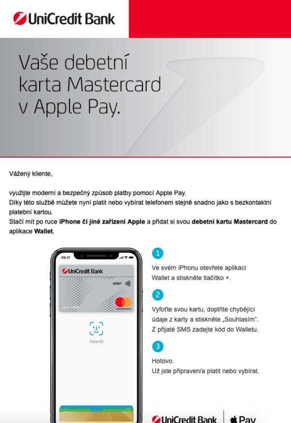Snímek obrazovky 2019 07 18 v 15.07.39 600x872 - UniCredit Bank v Česku nově také podporuje Apple Pay