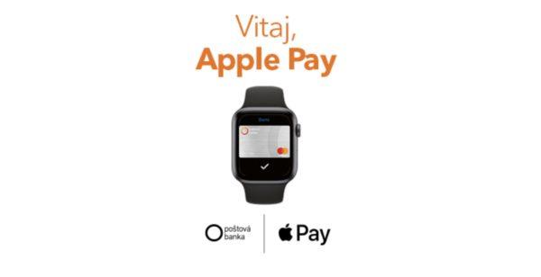 postova banka apple pay watch 600x308 - Druhá vlna Apple Pay: pridáva sa Poštová banka a 365.bank