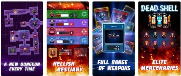 Dead Shell Roguelike RPG 600x254 - Zlacnené aplikácie pre iPhone/iPad a Mac #32 týždeň