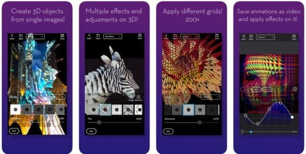 KinoGlitch 600x303 - Zlacnené aplikácie pre iPhone/iPad a Mac #31 týždeň