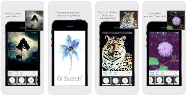 OilSketch 600x308 - Zlacnené aplikácie pre iPhone/iPad a Mac #32 týždeň