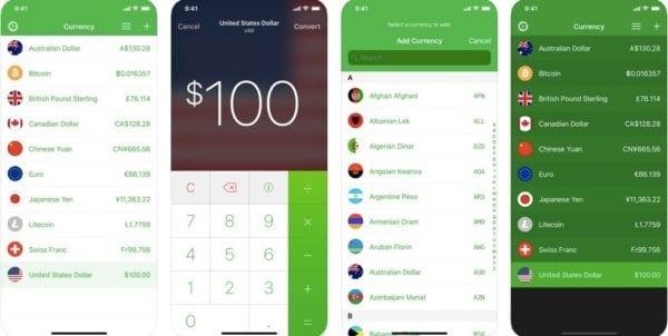 ios aplikacia currency 600x302 - Ubytovanie, doprava, zážitky: Tieto aplikácie by cestovateľom nemali chýbať