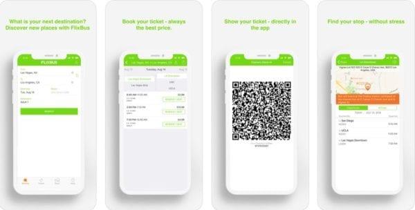 ios aplikacia flixbus 600x304 - Ubytovanie, doprava, zážitky: Tieto aplikácie by cestovateľom nemali chýbať