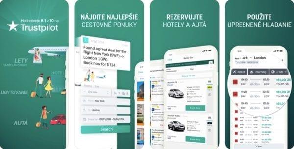 ios aplikacia kiwi 600x304 - Ubytovanie, doprava, zážitky: Tieto aplikácie by cestovateľom nemali chýbať