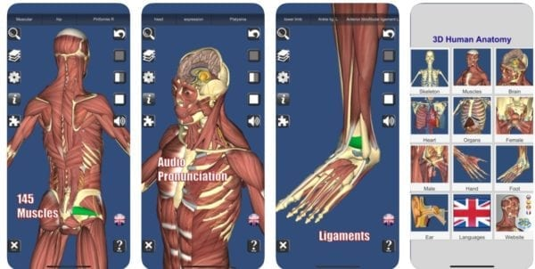 3D Anatomyu 600x302 - Zlacnené aplikácie pre iPhone/iPad a Mac #36 týždeň