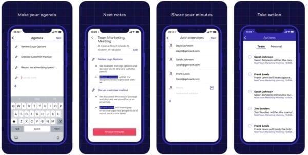 Neet Meeting Minutes 600x303 - Zlacnené aplikácie pre iPhone/iPad a Mac #39 týždeň