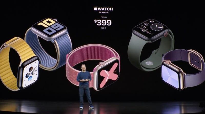 f1568137459 - Displej v nových Apple Watch Series 5 sa už nebude vypínať