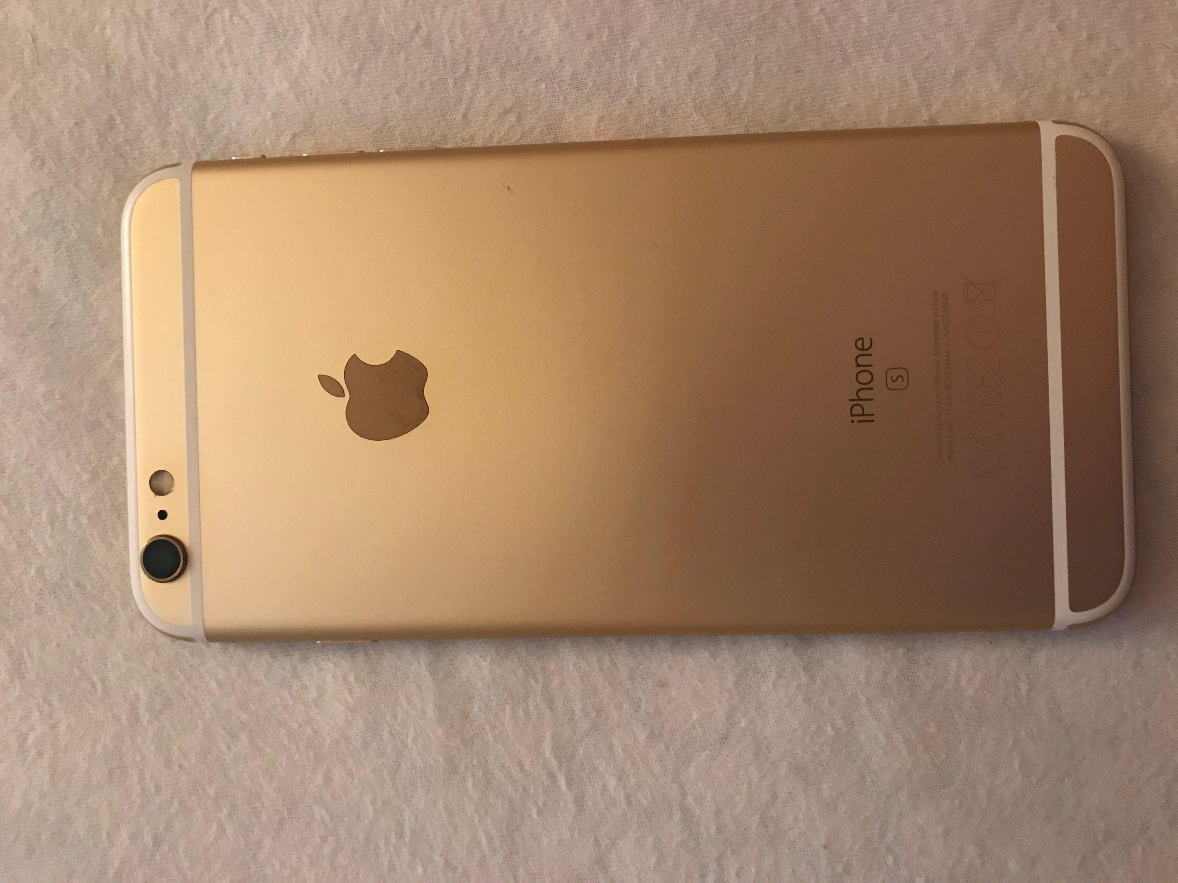 Zobraziť inzerát ~ MacBlog.sk - iPhone - Predám iPhone 6S Plus Gold 16GB 73a513aa33d