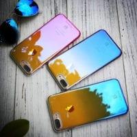 iPhone 7 kryt Floveme gradient blue